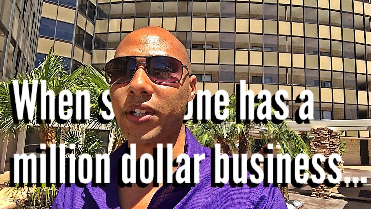 When a millionaire speaks…