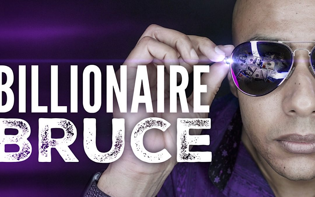 Billionaire Bruce – It's not personal, it's business